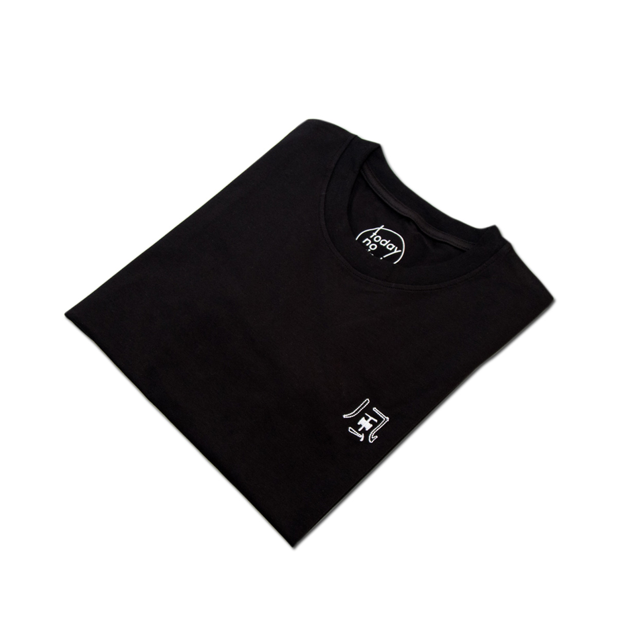 today no wind 2015SS 風/  Embroidered Tee 圆领刺绣T恤