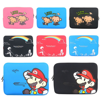 Notebook Sleeve 13.3 15-inch 14-inch 12 men cartoon Lenovo Dell Computer Sleeve