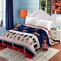 冬季加大法兰绒毛毯珊瑚绒毯法莱绒毯子单双人宿舍床单盖毯包邮