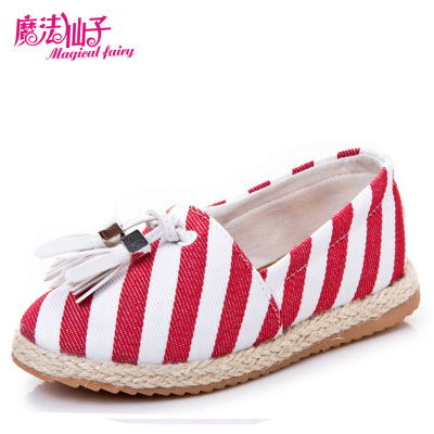Magic Fairy Spring 2015 new Korean children's princess shoes girls shoes children shoes canvas shoes shoes