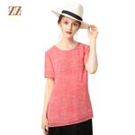 佐尔美2017夏季女装纯色暗花桑蚕丝修身显瘦真丝衬衫上衣E72CS67