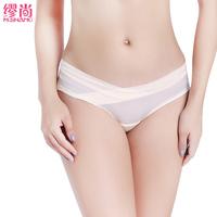 孕妇内裤夏季薄款透气无痕低腰怀孕期一片式大码内裤孕妇冰丝内裤