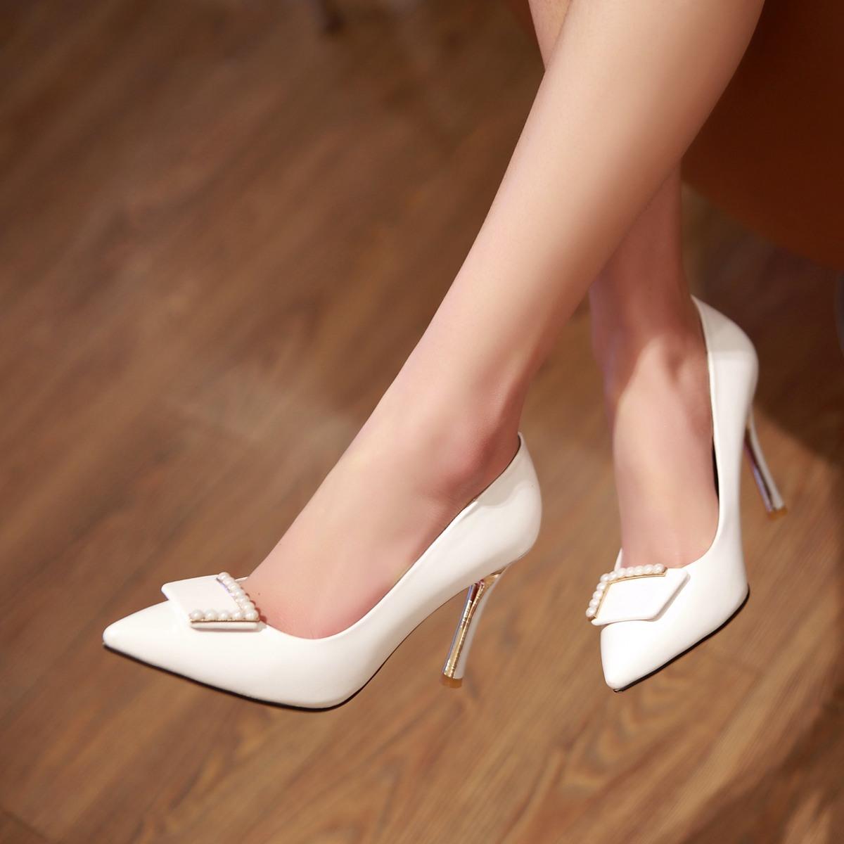奥卡索星空代购奥古斯都女鞋正品2015春装专柜冰洁仙妮特单鞋森达