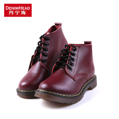 Dan Ninghai low to help Martin boots spring new casual shoes fashion shoes Martin genuine mail