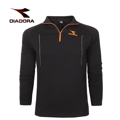 Authentic Diadora / Diadora male stand-up collar pullover jacket 2014 new winter sweater 94551010