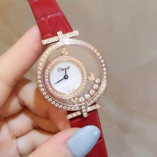快乐钻时尚潮流女表 夏装女装搭配 顶级奢侈品瑞士手表