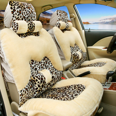 The new full-chartered plush car seat cushion winter Great Wall Hover H3H5H6 Tengyi C30C50M4 seat