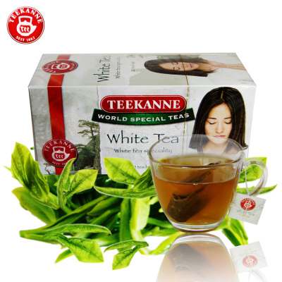Seti cob TEEKANNE white tea super tea bag German imports 20 * 1.25 g