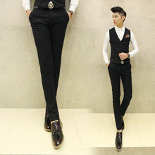 The latest men's wear long pants net mass fashion leisure cultivate one's morality version to trousers (suit a set of available)
