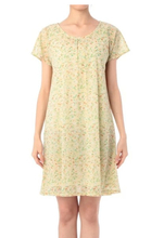 Japan original single grove latest outbound fresh fashion art floral chiffon dress