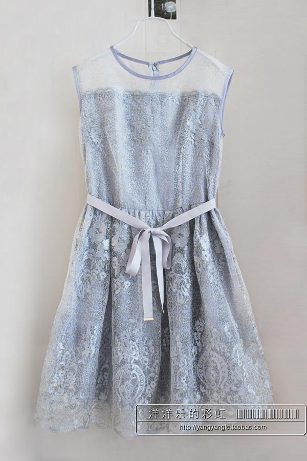 Женское платье На продажу! Ян Рен 14 летние шелковицы шелка с реальным верности полное кружева Дамы платье