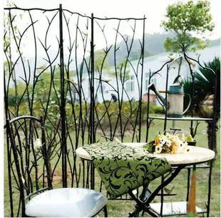 铁艺镂空小鸟屏风隔断玄关装饰花屏装饰品折屏花窗屏障