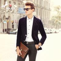 2016秋季新款男式韩版修身西装 男装西服外套 品牌服装