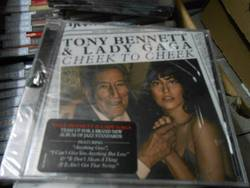 全新F99-11 美版 Cheek TO Cheek BY Lady Gaga Tony Bennett