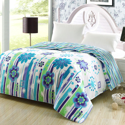 Snow shinny cotton twill bedding cotton quilt single double 200x230 220x240 quilt Specials