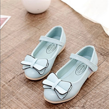 In the spring of the new children's shoes 3-4-5-10-year-old girl shoes Han edition style light mouth single shoes casual shoes of the girls