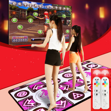 More comely dual-use computer hd TV dance dance dance MATS double body feeling game bag mail