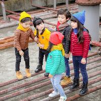 韩版2016秋冬新款童装儿童羽绒棉服内胆男童女童宝宝轻薄款童棉衣