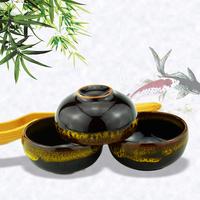 钧窑茶盏功夫茶杯主人杯钧瓷渐变釉高档茶具杯子大容量