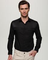 欧美潮范 四季型男走秀款长袖衬衫 英伦大牌个性百搭衬衫BG031