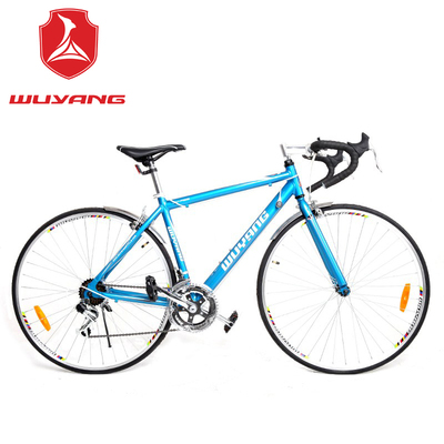 Wuyang bicycle road bike gear dead fly sports car road racing aluminum 12-speed road zxc male models