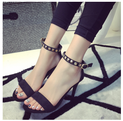 2015 new summer sandals fine with sandals夏季女凉鞋高跟凉鞋