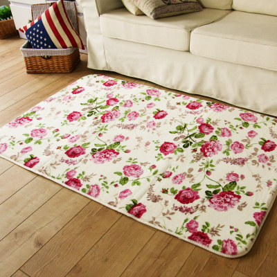 Reed bedroom modern minimalist living room carpet child crawling mat carpet coffee table carpet rug Doormat