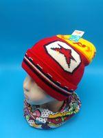 新款宝宝护耳帽婴儿帽秋冬季男女童毛线帽子加厚保暖小孩套头帽潮