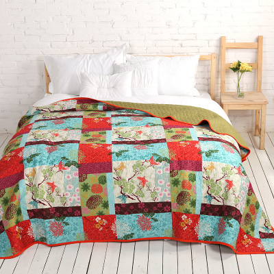 MMK cover is more popular European and American textile bedding cotton quilted cover is conditioned by orange Thani