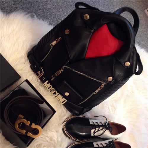 Рюкзак красный-YO пользовательских Европейский стиль Хай стрит McDonald's Mo Siqi одежда