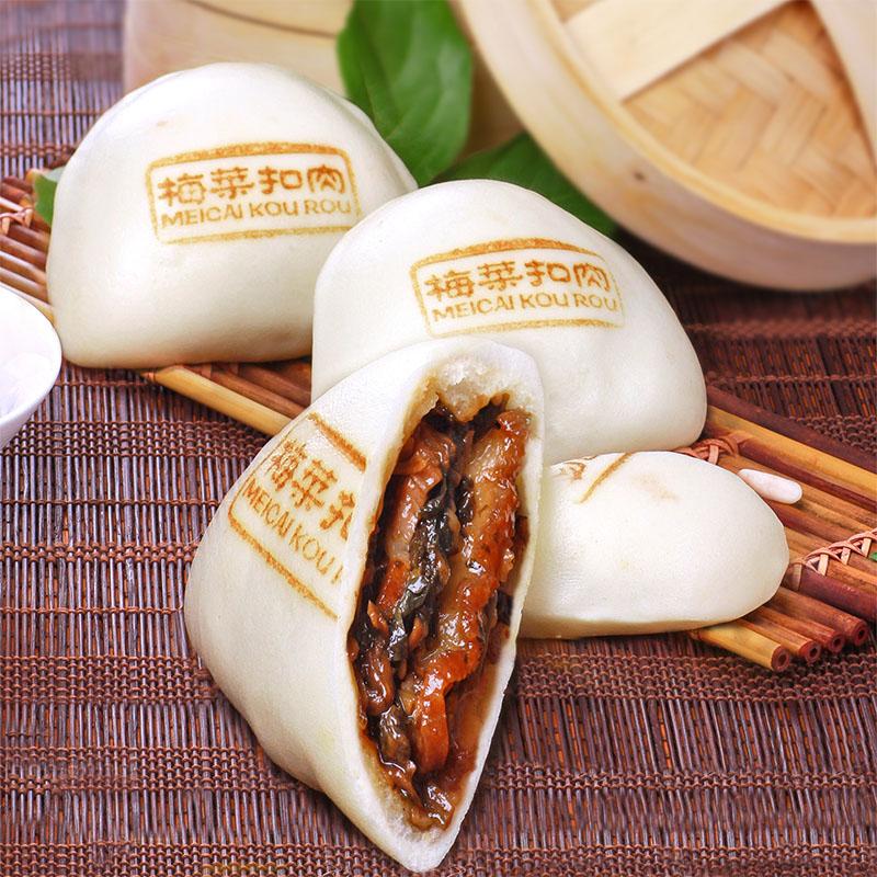 Макароны Яо Ле маринуют мясо 360g 6 пакет сушеных свинины булочки Завтрак Выпечка десерт