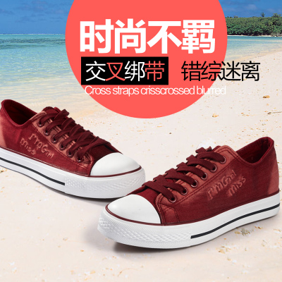 Spring 2014 Korean version of the influx of low-top canvas shoes, casual shoes breathable shoes flat shoes free shipping board