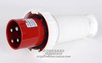 厂家直销/尼龙A级/工业插头插座/4芯125A/3P+E/380V-415V/IP44/6h