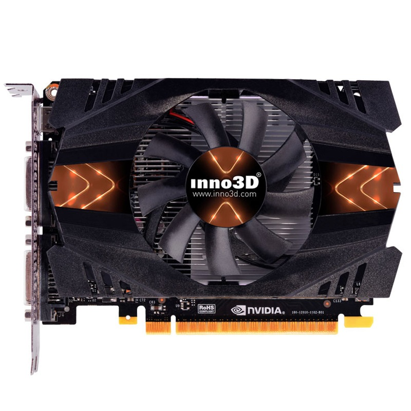 映众(Inno3D)GTX750战神版 1020/5010MHz 1GB/128Bit GDDR5PCI