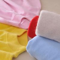 秋冬装新款半高领羊绒衫女士短款大码针织衫韩版套头修身羊毛毛衣