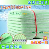 鱼缸水族箱过滤棉生化棉 净化培菌滤材 12米双层高密度棉过滤材料