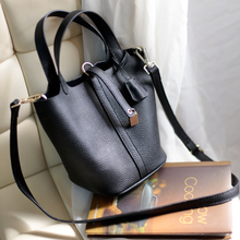 Manila in 2014 the new fashion female bag basket bucket bag leather shoulder inclined shoulder bag leather laptop bag