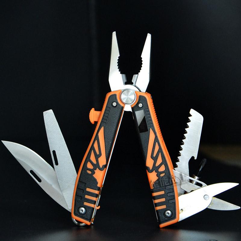 机械纹 多功能折叠小刀钳 组合伸缩工具钳子随身户外瑞士科技军刀