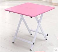 包邮 折叠桌子 便携式简易正方形手提桌麻将桌户外小餐桌简单方便