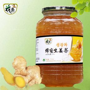 花圣蜂蜜生姜茶1000g果味茶无红糖姜汤韩国风味冲饮品果汁包邮