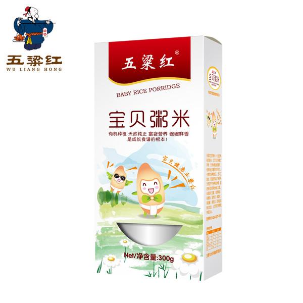 五粱红五常稻花香大米 宝宝粥米 2015年营养新米300克