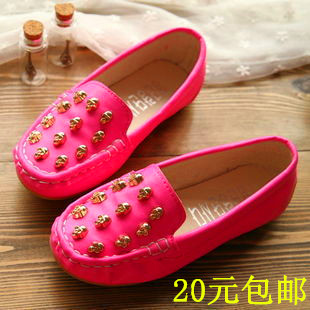 2014 new children's shoes for boys and girls shoes, casual shoes Peas large Korean children's shoes board shoes Specials