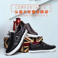 TDTD2016夏新款男士乐福休闲板鞋男鞋真皮休闲皮鞋男英伦潮鞋子男