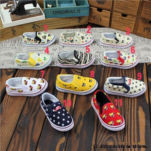 Mikihouse with money! Single men and women baby bear joker a pedal children shoes, canvas shoes into 11 color