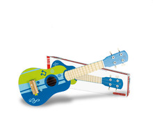 German hape guitar melody baby early children's toys Ukulele Hawaiian guitar tetrachord
