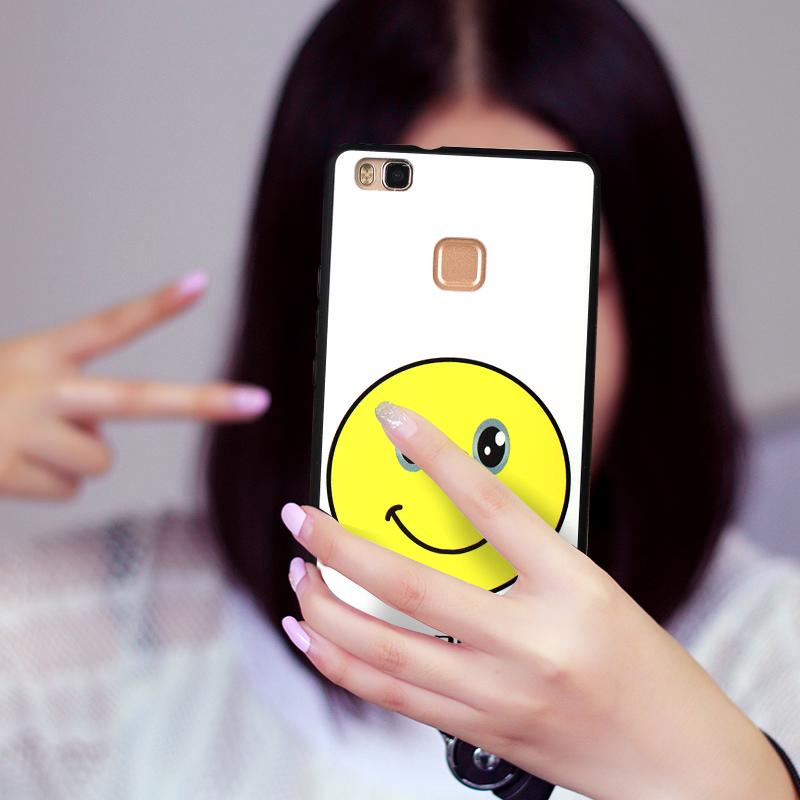 博裕 华为G9青春版手机壳男女款挂绳硅胶套超薄防摔软手机保护壳