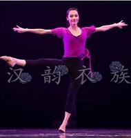 古典舞 水袖舞蹈服 古典舞练功服 民族舞台服饰 藏族舞蹈演出服装