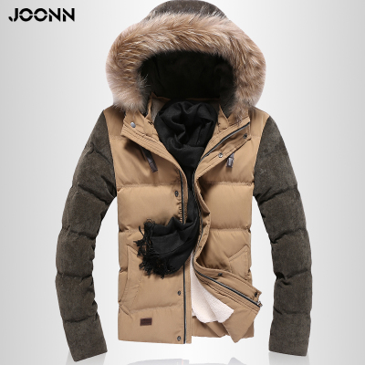 Nine shore winter 2014 Slim down coat jacket men new Korean men's short paragraph tide thick down jacket men