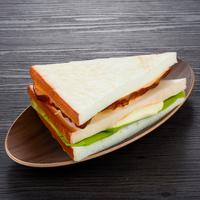 仿真三明治 影视摄影道具拍摄学习食品 假三明治面包店橱柜展示