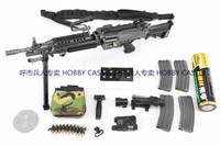 1/6兵人 CrazyDummy CD78004美国陆军机枪手 M249全套如图